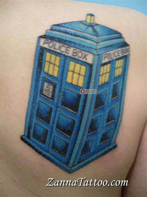 tardis tattoo tardis by luckypineapple on deviantart