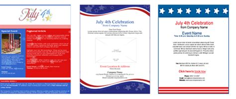 4th Of July Email Templates Happy 4th Of July Email Template