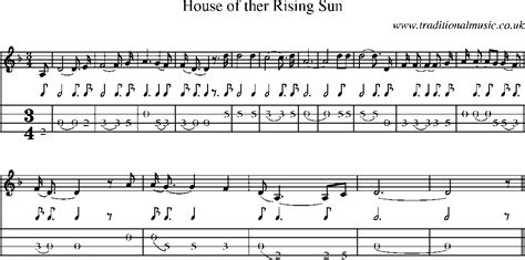 who wrote the song house of the rising sun house of the rising sun tab