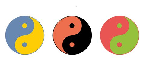 which color is yin the yin yang test the blogthings