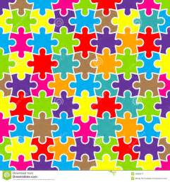 abstract puzzle background with colorful pieces royalty