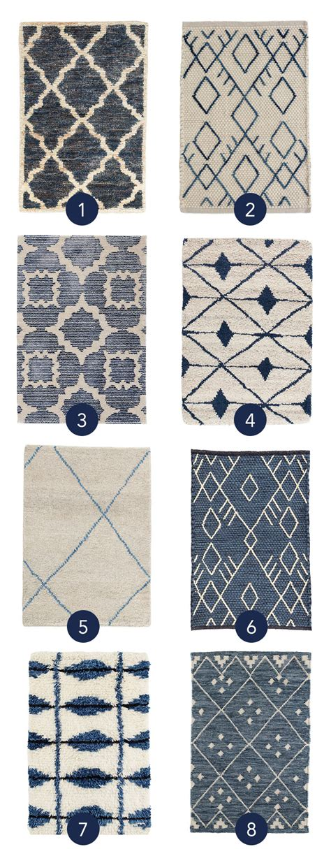 Make Mine Moroccan New Blue Rug Styles For Fall Fresh Style Rugs