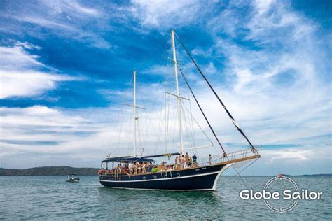 overnight boat rental rental overnight from the charter base phuket island in