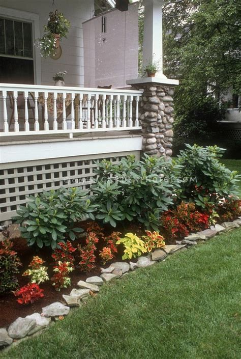 flower beds in front of house flower bed idea cant wait to pull up shrubbery and