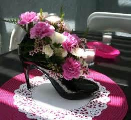 High Heel Shoe Table Decorations by High Heel Shoe Centerpiece Ideas Shoe Centerpieces