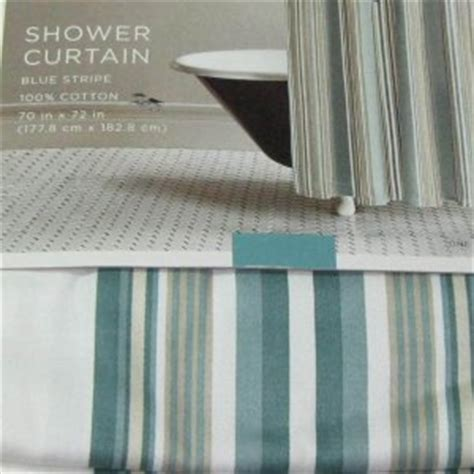 teal and green shower curtain target home teal blue green stripe fabric shower curtain