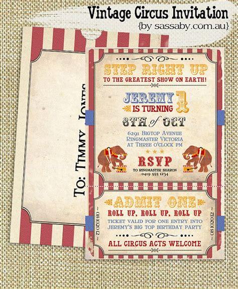 circus invitation template circus invitations templates free 2019 ideas