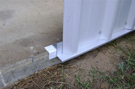 anchor roof into vinyl siding how to seal metal workshop ih8mud forum