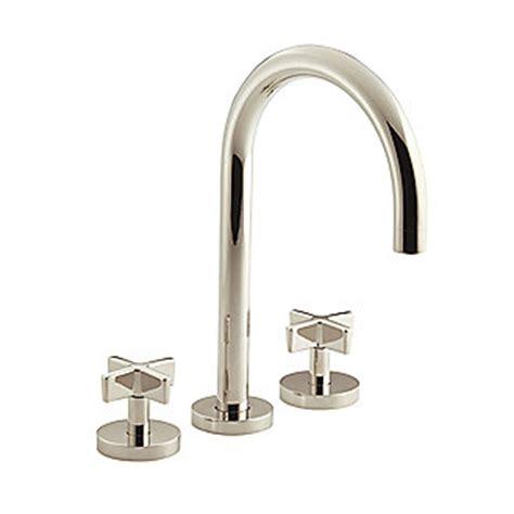 Kallista Bathroom Faucets by Kallista Deck Mounted Bath Faucet Set Gooseneck Spout