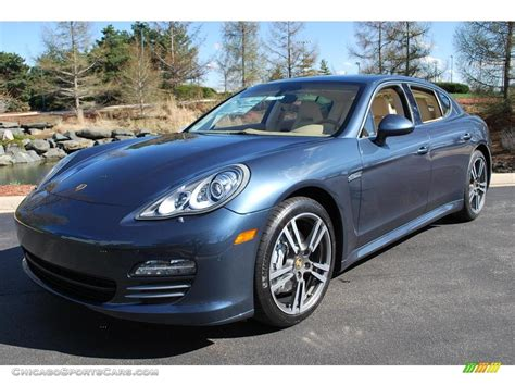 blue porsche panamera 2010 porsche panamera 4s in yachting blue metallic