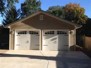 2 Car Detached Garage 2 car detached garage