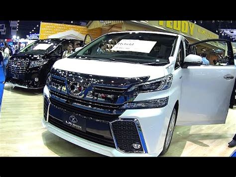 luxury minivan 2016 2016 2017 toyota vellfire best luxury toyota 2016