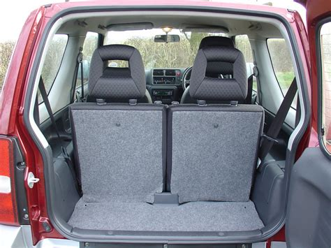 Suzuki Jimny Rear Seats Suzuki Jimny Estate 1998 Features Equipment And