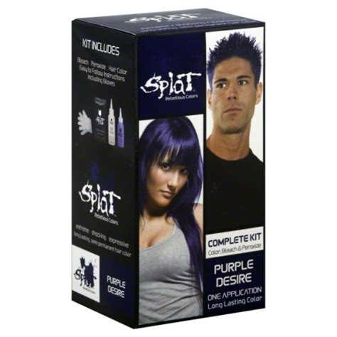 splat crimson obsession without bleach splat hair color purple splat hair dye