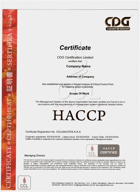 haccp certification letter haccp certification letter 28 images homeless