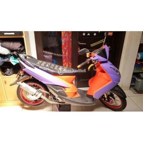 Spakbor Depan Mio Soul Merk Win Warna Putih yamaha mio soul tahun 2007 warna ungu doff modifikasi mesin 170cc bandung dijual