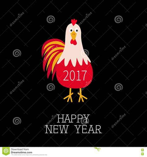 new year character images rooster bird 2017 happy new year symbol calendar