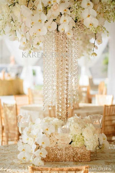 17 Best ideas about Crystal Wedding Decor on Pinterest