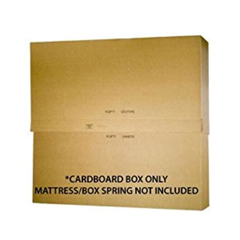 Mattress Shipping Box by Ecobox 80 X 8 X 79 Inches Shipping Moving
