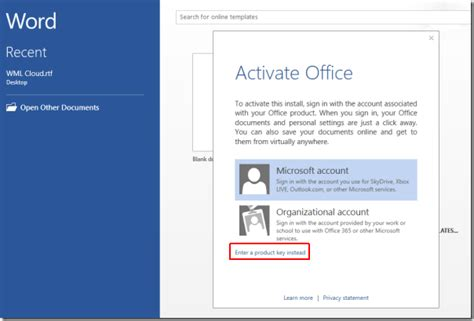 Microsoft Office 2013 Activation Key by How To Activate Microsoft Office 2013 Microsoft