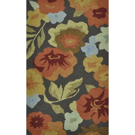 summerton collection rug loloi rugs summerton style collection brown floral 2 ft 3 in x 3 ft 9 in accent
