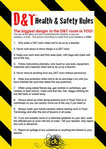 d amp t room safety poster by doodle dt teaching resources tes