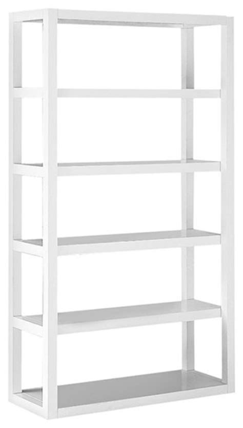 tower bookshelves parson s tower white modern bookcases by west elm