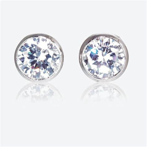 the roweena sterling silver diamonflash cubic zirconia