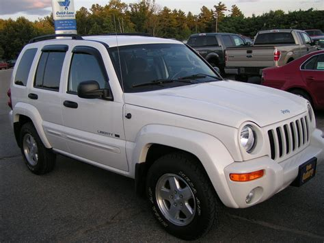 jeep liberty white 2003 99carseat 2003 jeep liberty specs photos modification