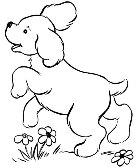 Printable Coloring Pages Puppies | free printable dog coloring pages for kids