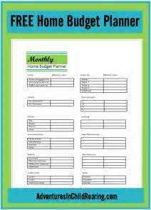 Home Planner Free printable home planner free printable monthly budget worksheet free
