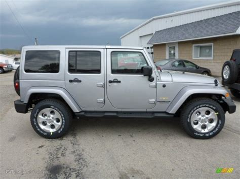 jeep sahara silver billet silver metallic 2013 jeep wrangler unlimited sahara