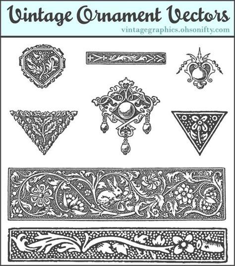 free printable vintage ornaments free decorative ornaments graphics printables