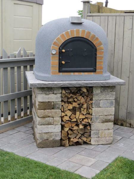 backyard brick pizza oven outdoor brick ovens nifty homestead