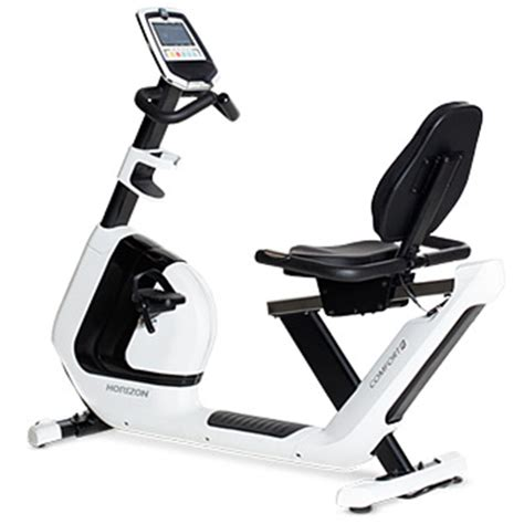 Floor Exercise Bike by Treadmill Warehouse Horizon Fitness Horizon Comfort R