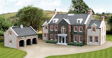 Mansion Plans by Luxury Houses Buyer Frenzy In Northern Ireland Price