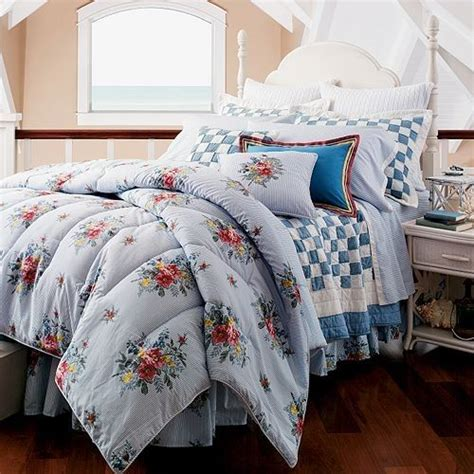 Chaps Comforters by Chaps Nantucket Garden Floral Home Bedrooms Bedding