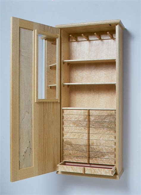 wooden jewelry armoire plans krenov inspired jewelry box woodworking furniture