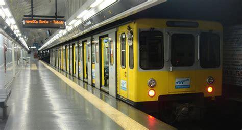 napoli linea 1 metropolitana chiusura anticipata
