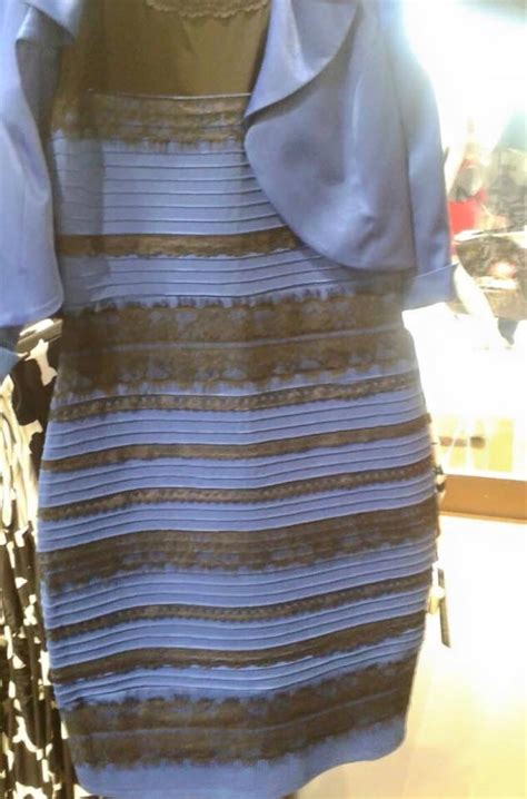 Blue And Black Or White And Gold Dress Test what color is this dress it s driving the