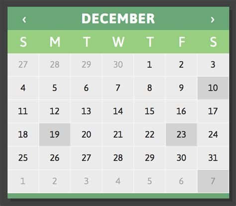 calendar layout js 5 jquery calendars for your next project learning jquery