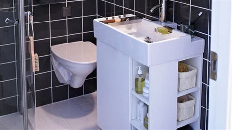 smart storage solutions for small bathrooms stylish