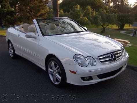 used mercedes convertible 2007 used mercedes benz clk class cabriolet at cardiff