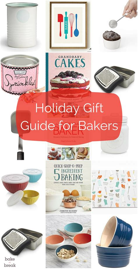 2015 holiday gift guide for bakers bake or break