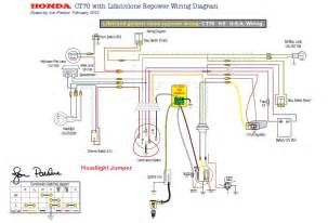 honda ct70 k2 wiring diagram ct70 honda free wiring diagrams