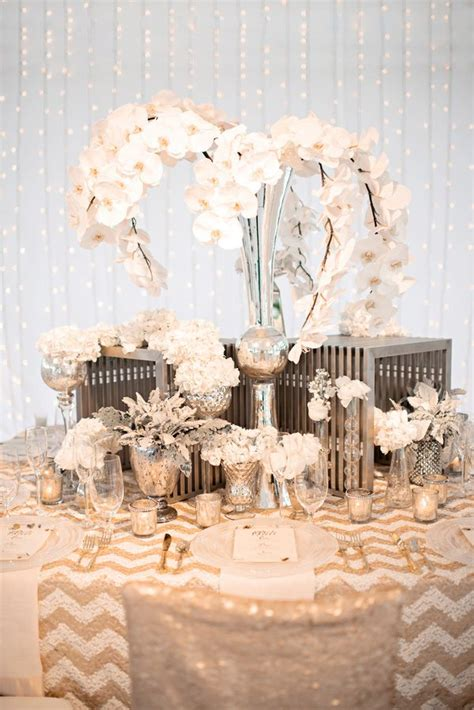 gold silver and wedding color inspiration