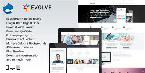 Drupal Theme Evolve | evolve multipurpose creative drupal theme premium