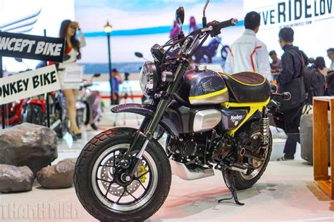Motorrad Monkey 125 by Honda Monkey 125 Concept Revealed At Vietnam Motorcycle Show