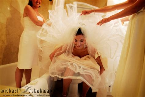 women going to the bathroom how to pee in a wedding dress