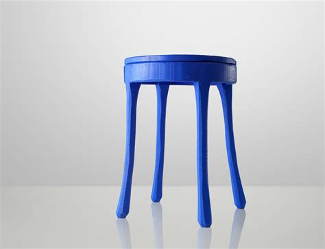 Blue Side Table Table By Jens Fager For Muuto David Report